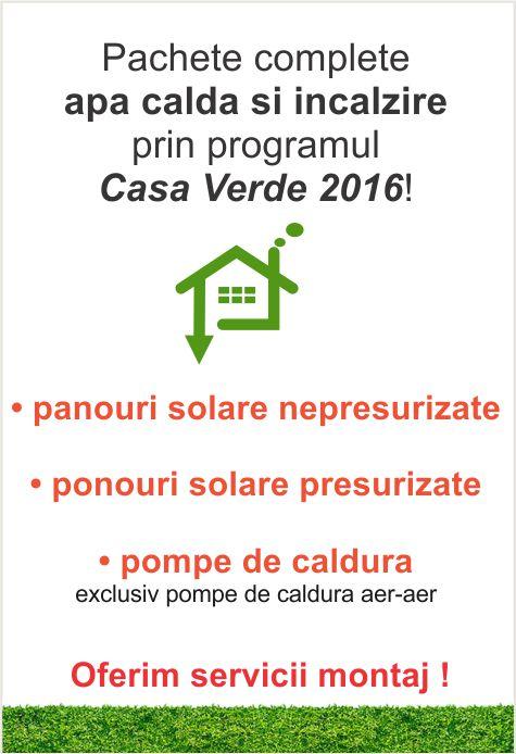 Program casa verde 2016